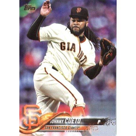 2018 Topps #70 Johnny Cueto San Francisco Giants Baseball Card