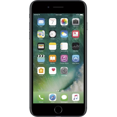 Refurbished Apple iPhone 7 Plus 128GB, Black - Unlocked GSM/CDMA