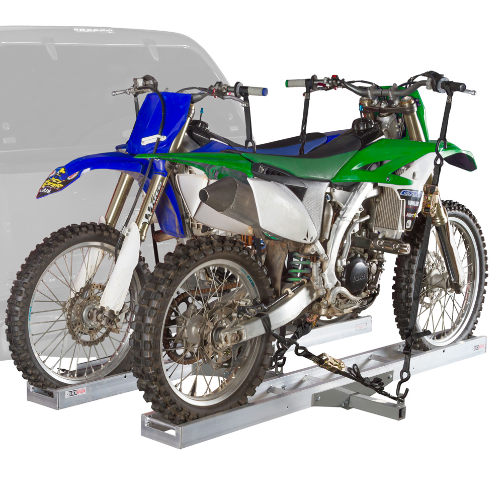 "Double Motocross 600 lb Capacity Dirt Bike Carrier Rack for 2"" Receivers by Rage Powersports"
