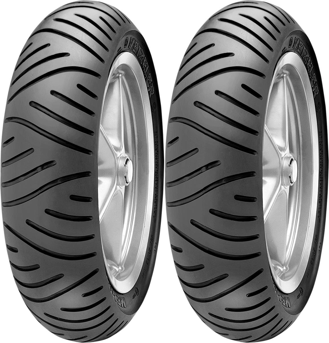 METZELER ME 7 Teen Front & Rear Tire Set, 130/70-10 59L Reinforced