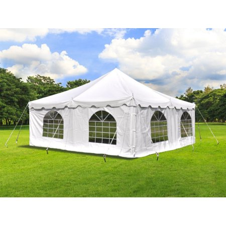 Party Tents Direct 20 X Wedding Event Pole Canopy Tent With Side Walls