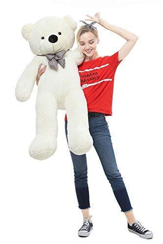 Whit... MorisMos Giant Cute Soft Toys Teddy Bear for Girlfriend Kids Teddy Bear