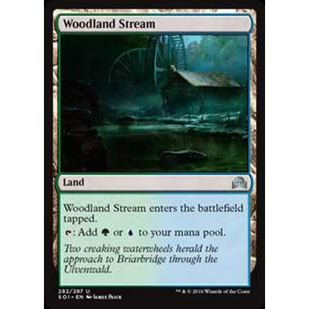 Woodland Shadows (MtG Shadows Over Innistrad Woodland Stream [Foil])