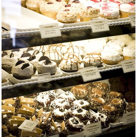 966bb1f5 Framed Art for Your Wall Pastry Display Cupcakes Bakery Baked Food 10x13  Frame