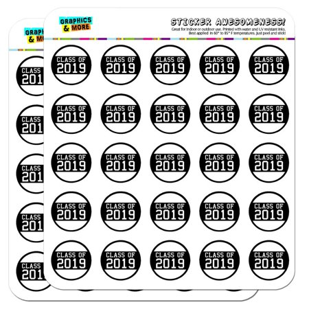 Recipe Scrapbook Stickers (Class of 2019 Graduation 1