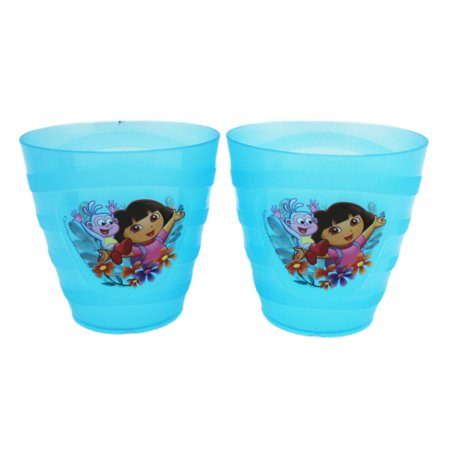 Dora the Explorer Dora and Boots Small Blue Kids Cups (2pc)