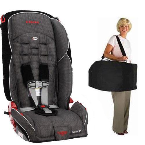 Diono Radian R100 Car Seat with Free Carrying Case - Shadow