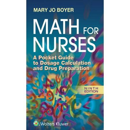 Math for Nurses : A Pocket Guide to Dosage Calculation and Drug