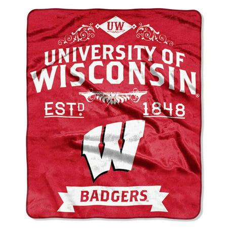 Wisconsin Plush Blanket (Wisconsin Blanket)