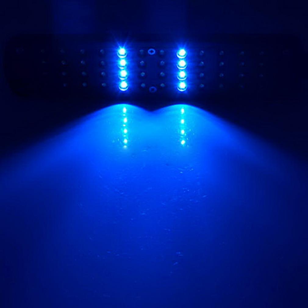 48 LED Aquarium Fish Light Plant Grow Clip-on Lamp Adjustable Arm Light by