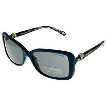 Tiffany & Co Sunglasses Women Green Square TF4102 81823F Size: Lens/ Bridge/ Temple: (Tiffany & Co Logo)