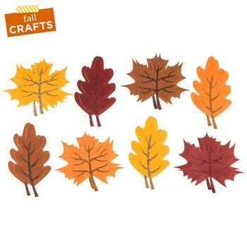 Fall Paper Leaves Home Decoration Autumn Craft Party Supply](Autumn Fall)
