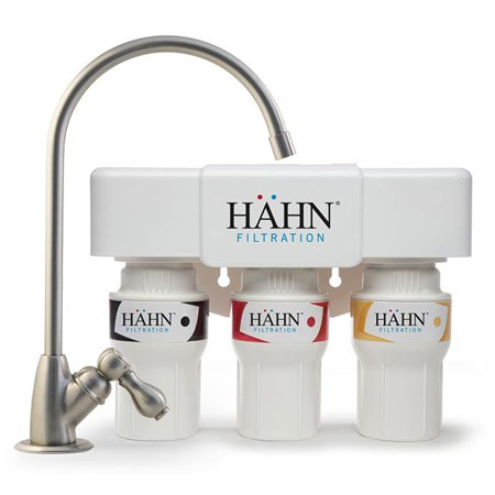Hahn Filtration 3-Stage 600 Gallon Undercounter Water Filtration System ()