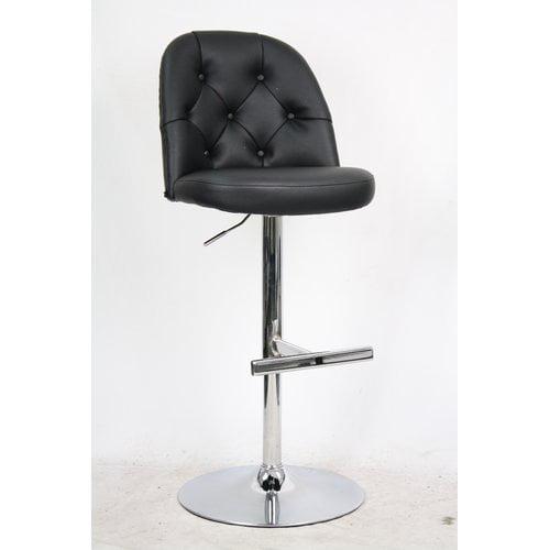 Whalen Furniture Archer Adjustable Height Bar Stool