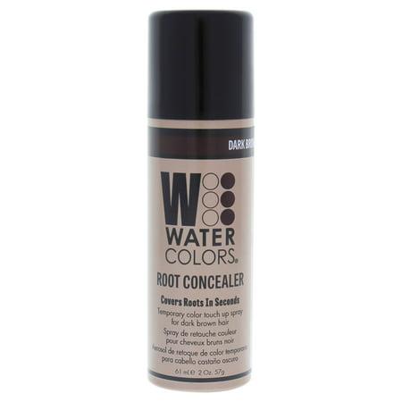 Tressa Watercolors Root Concealer - Dark Brown - 2 oz Hair Color Spray](Haircolor Spray)