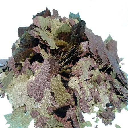Aquatic Foods 45% Blackworm & Spirulina Flake Blend, ULTRA Premimum Tropical Fish Flakes - 1/8-lb