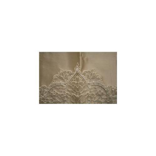Unique Quality Fabrics Lrier-09-M Lourier-Mocha 100% Polyester, 59 inch Wide, 9 Yd.