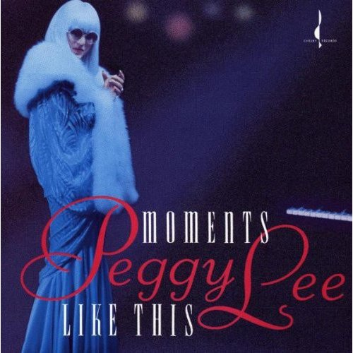 "Personnel: Peggy Lee (vocals); Jay Berliner (guitar); Gerry Niewood (flute, tenor & baritone saxophones); Mike Renzi (piano); Jay Leonhart, Steve Laspina (bass); Peter Grant (drums).<BR>Recorded on September 8 & 9, 1992.  Includes liner notes by Gene Lees.<BR>More than 50 years on from her first recordings, Peggy Lee seems to be an ever-evolving musical spirit. Recorded in 1992, MOMENTS LIKE THIS finds Lee performing both songs from her earlier days, and self-penned compositions. Her voice has lost some of the weightless lilt it possessed in past times, but what remains reaffirms the rare artist she has always been.<BR>Reprises of standards such as ""I Don't Know Enough About You"" and ""Always True in My Fashion"" are as spirited as her first masterly renditions, with an added air of familiarity that adds to the songs' humor. ""Why Don't You Do Right,"" her signature tune, and the Lee-penned ballad ""Remind Me,"" are performed more softly and quietly than previously, but after half a century of beautiful blues, Peggy Lee's sound uplifts as much as ever."
