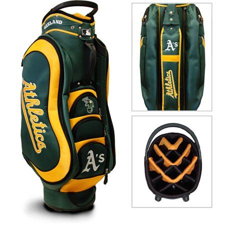 Team Golf Mlb Oakland Athletics Medalist Golf Cart Bag
