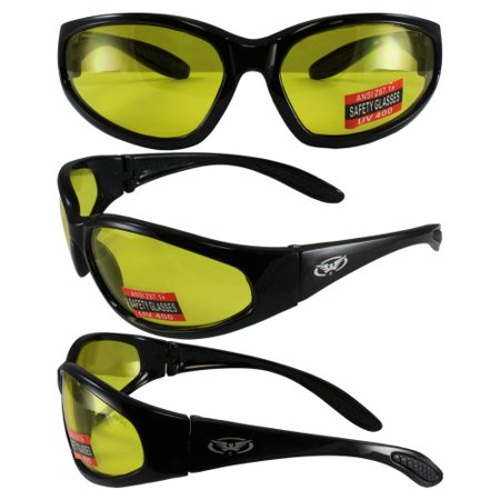 Hunting Shooting Construction Safety Glasses with Yellow Lens Meet ANSI Z87.1-2003 Standards for Safety Eyewear These are almost indestructible give them a try you will (You's Eyewear Price)