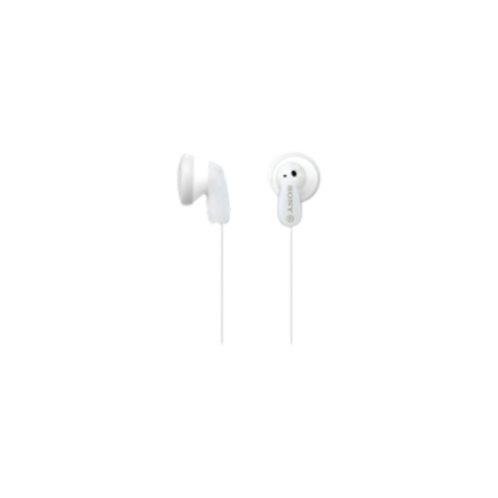 Sony MDR-E9LP Stereo Earbuds (White)