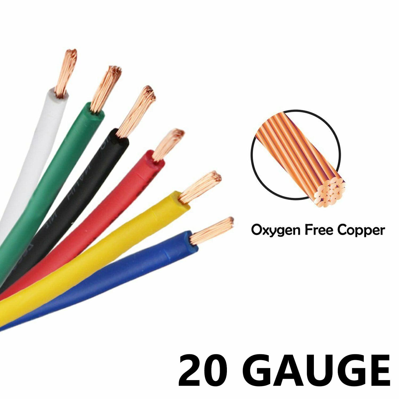 AUPROTEC 1m-20m automotive 6.0 mm² electrical auto cable battery wire 8 colours