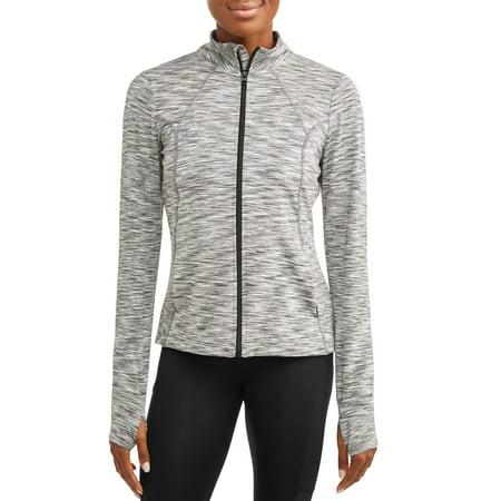 (Cascade Blue Women's Active Core Yoga Jacket)