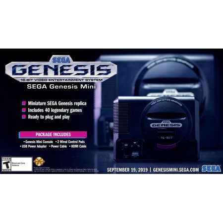 Sega Genesis Mini - Sega