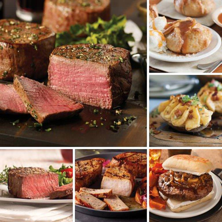 Omaha Steaks Gourmet Filet Holiday Gift Father's Day Food Christmas Gift Package Gourmet Deluxe Steak Gift