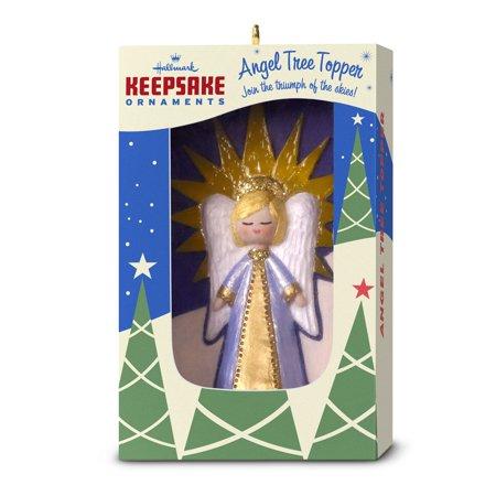 Hallmark Keepsake Christmas Ornament 2018 Year Dated, Nifty Fifties Angel Tree Topper Angel Tree Top Ornament