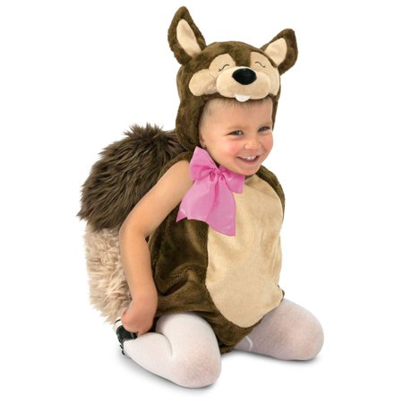 Halloween Squirrel Costume (Halloween Toddler Nutty the Squirrel)