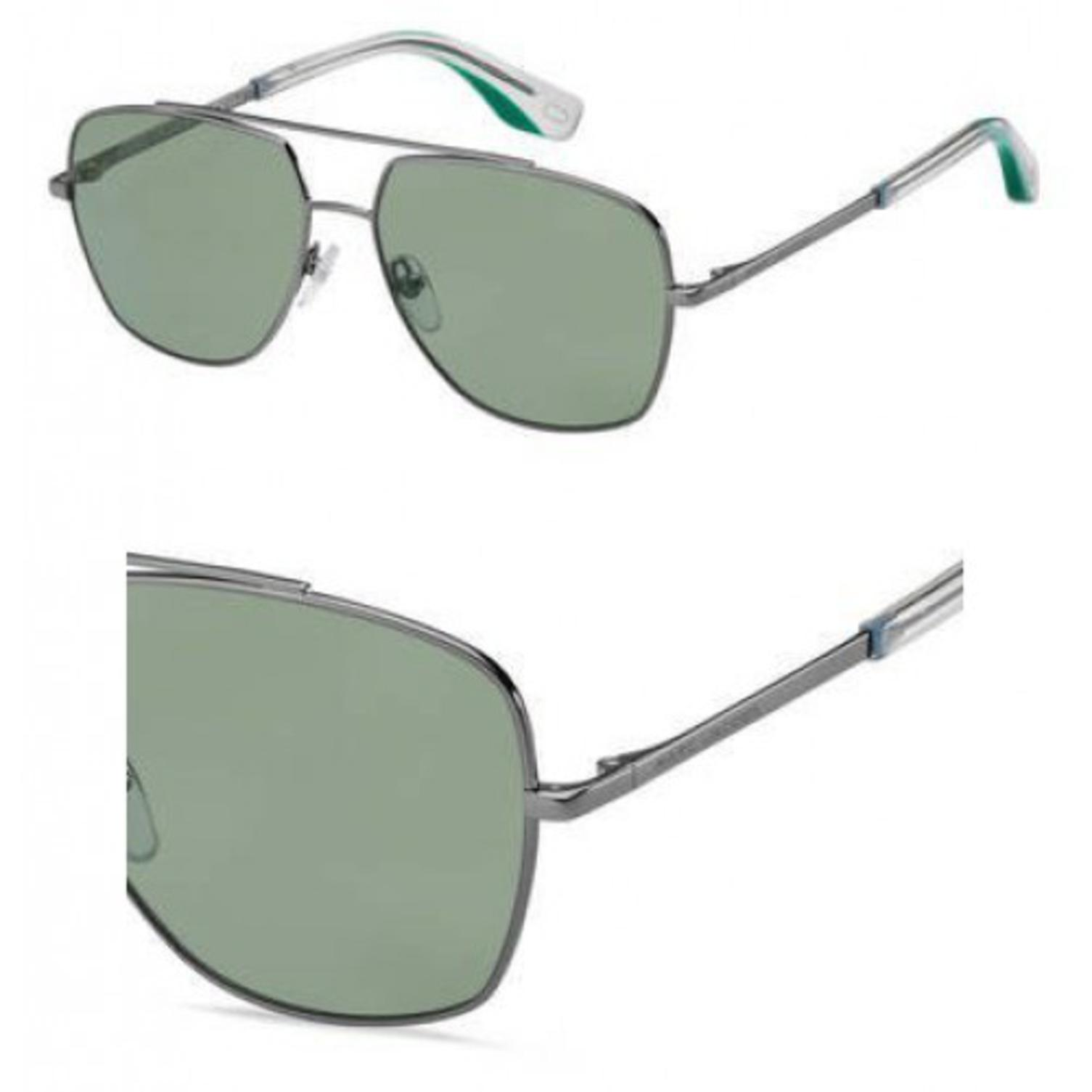 Sunglasses Marc Jacobs 271 /S 0ASR Dark Rust Green / QT green lens