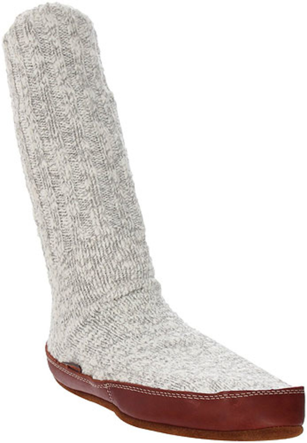 Unisex Acorn SLIPPER Lightweight Socks GRAY XS