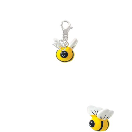 Resin Bumble Bee - 2019 Clip on Charm](Bee Charms)