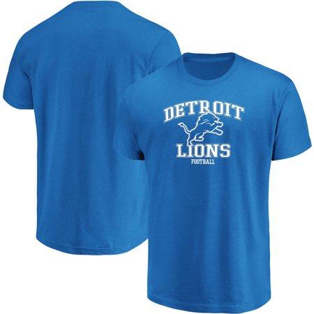 Detroit Lions Majestic Team Greatness T-Shirt - Blue Detroit Lions Youth Short