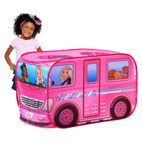 Sunny Days Barbie Dream Camper Pop-Up Play Tent