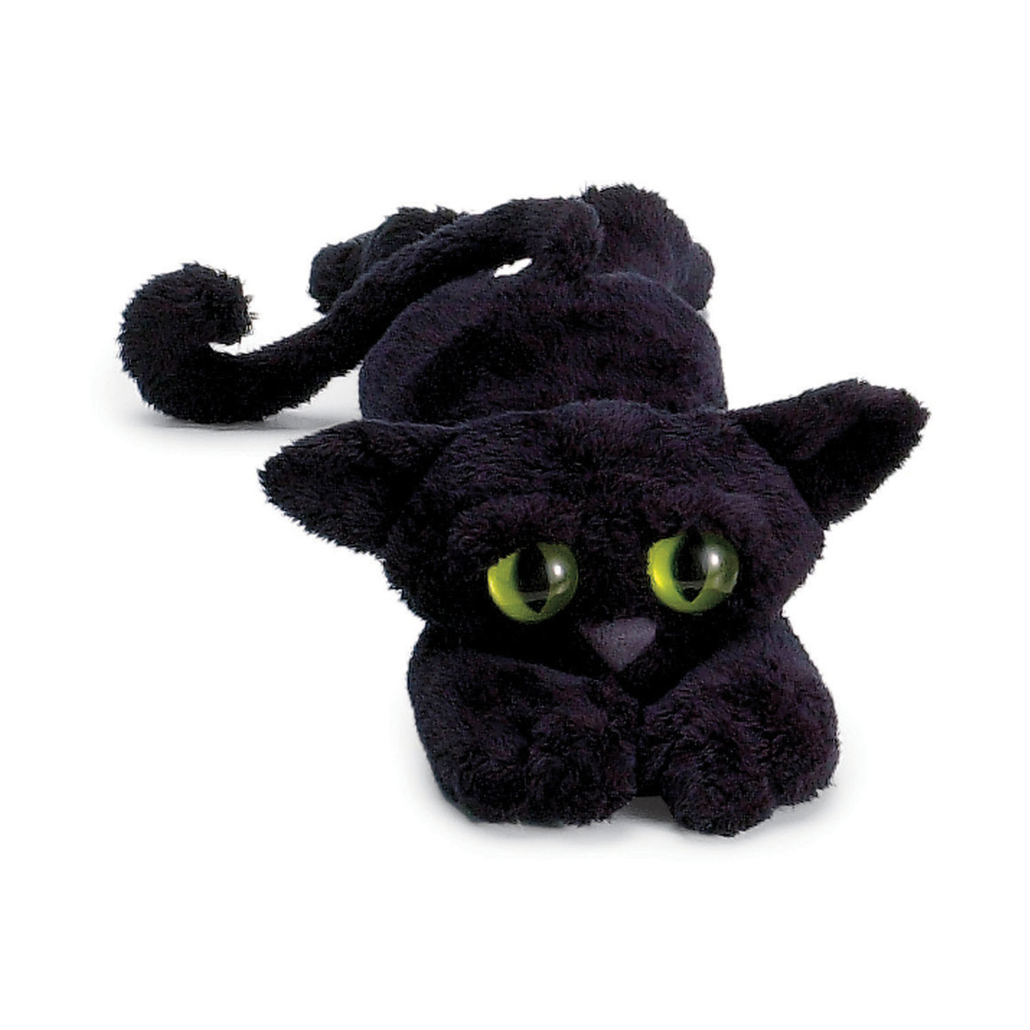 "Manhattan Toy Lanky Cats Ziggy Black Cat 14"" Plush"