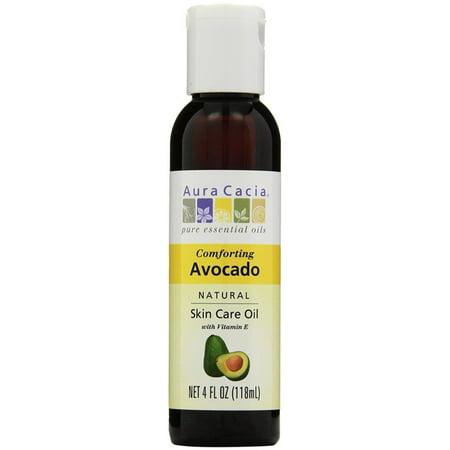 3 Pack - Aura Cacia Natural Skin Care Oil, Avocado 4 oz
