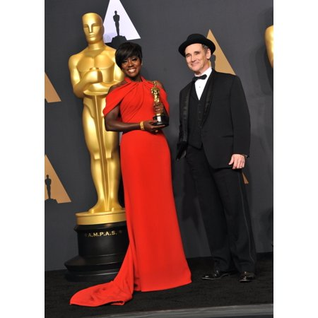 Viola Davis Best Supporting Actress For Fences Mark Rylance In The Press Room For The 89Th Academy Awards Oscars 2017 - Press Room The Dolby Theatre At Hollywood And Highland Center Los Angeles Ca