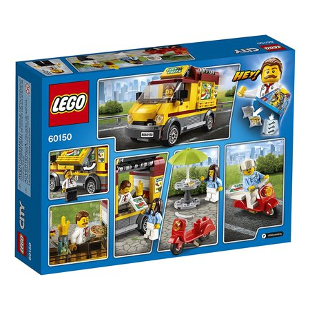 bdaebb4c0 LEGO City Great Vehicles Pizza Van Food Truck   Moped Building Set Kit (2  Pack ...