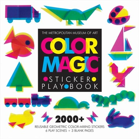 Image of Abrams Books Color Magic Sticker Play Book