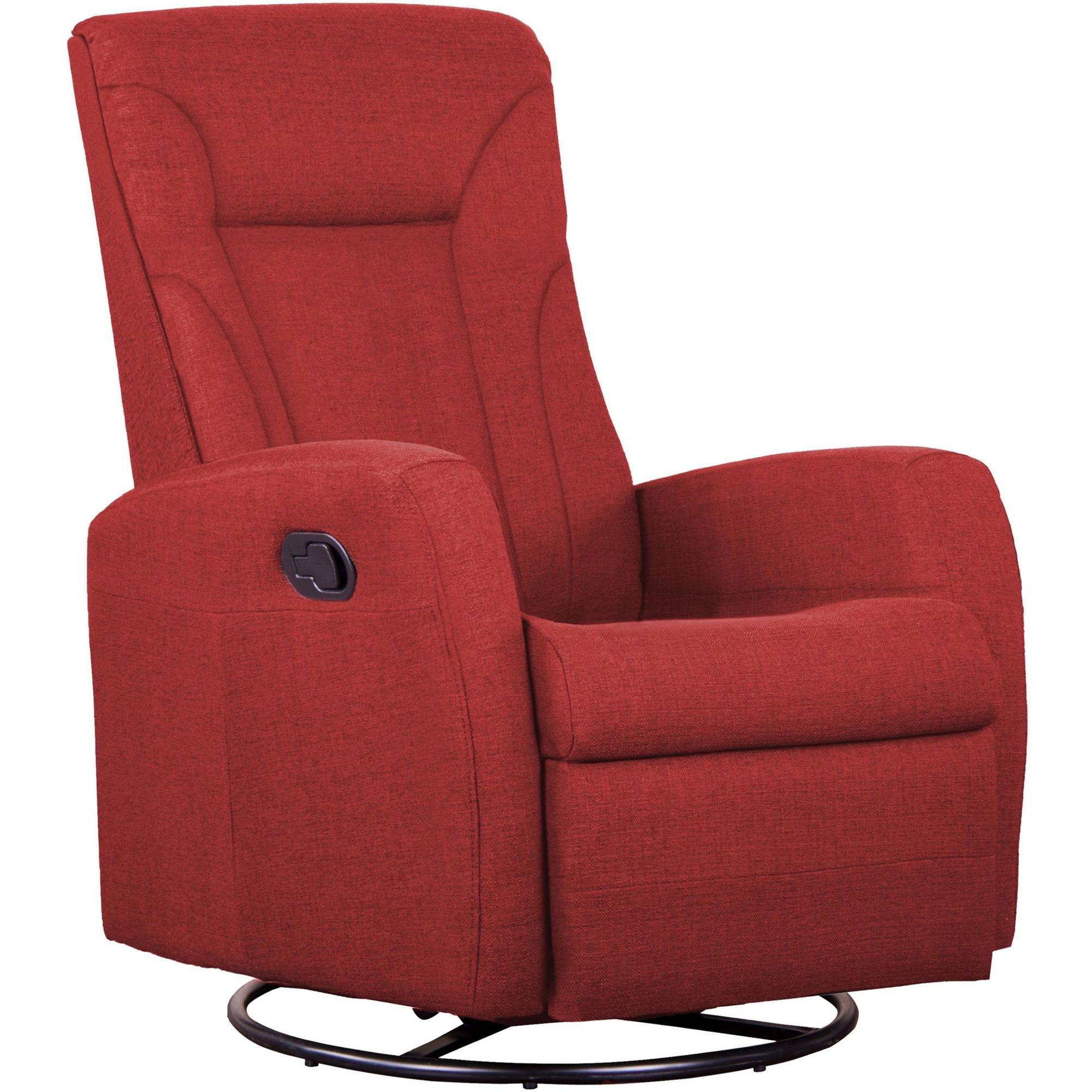 Shermag Motion Occasional Armchair, Polyester Red