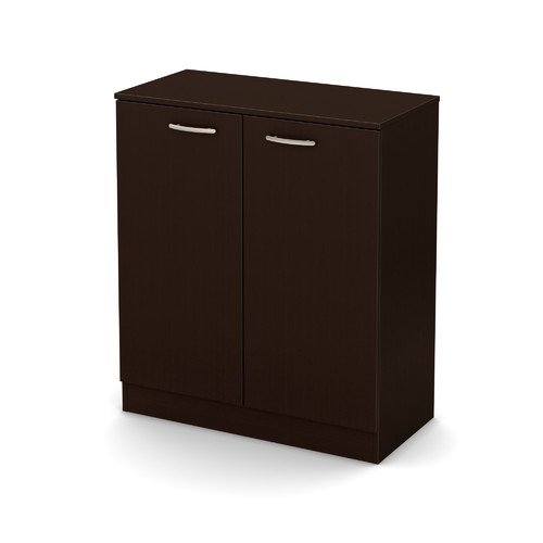 South Shore Smart Basics 2-Door Storage Cabinet, Multiple Finishes