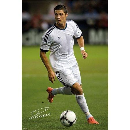 Ronaldo - Autograph Poster Print (24 x