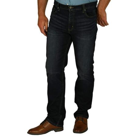 George Men's Straight Flex Fit Jean