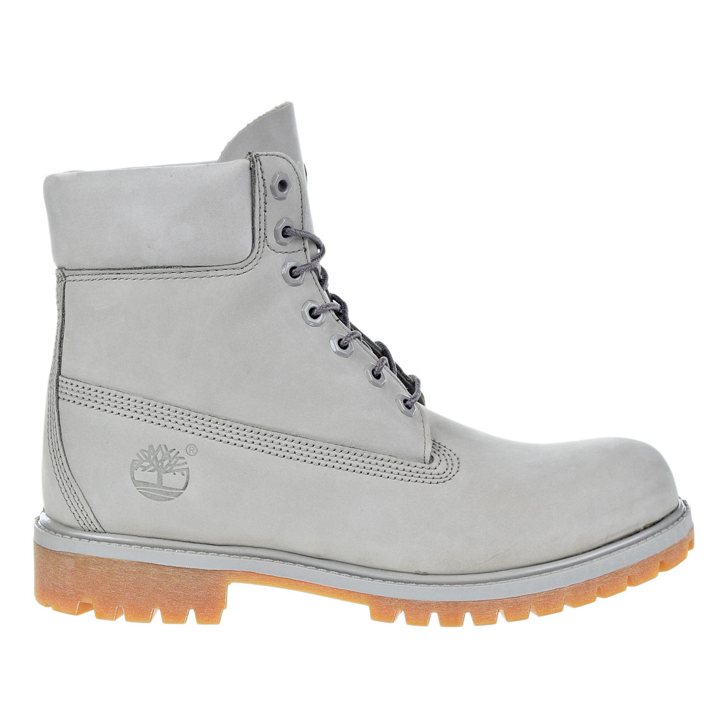 Timberland 6 Inch Premium Waterproof Mens Boots Light Grey tb0a1gau by Timberland