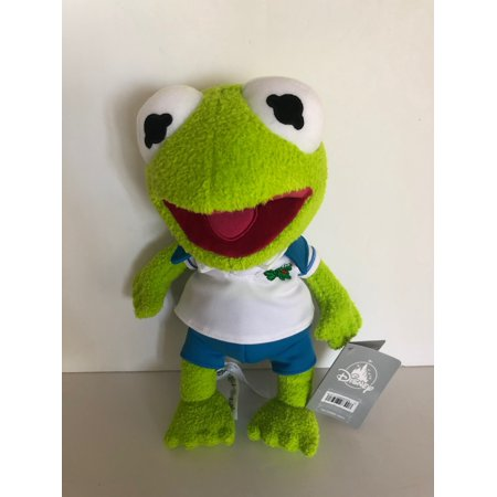 Disney Muppets Kermit Frog 12inc Mini Bean Bag Plush New with Tags - Mini Frogs