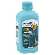 Equate Regular Strength Antacid Original Flavor Liquid, 200 mg, 12 Oz