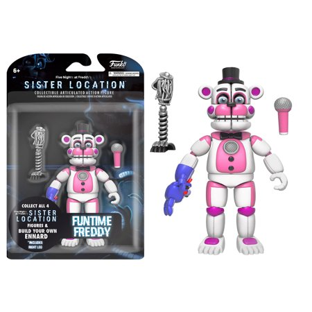 Funko 5  Articulated Action Figure  Five Nights At Freddys   Funtime Freddy