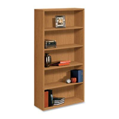 Brandnew Hon Company 5 Shelf Bookcase W Fixed Shelves 36In X13  13In X71in  Mahogany Furniture Gss180192400